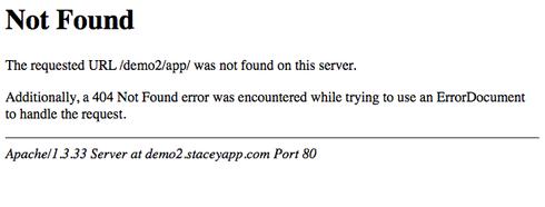 how to avoid 404 error