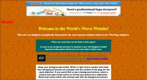 Color Enabled Website